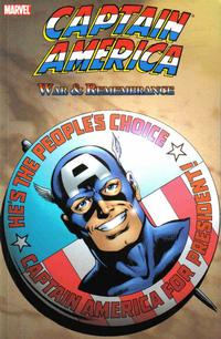 Cover Thumbnail for Captain America: War & Remembrance [Second Edition] (Marvel, 2007 series)