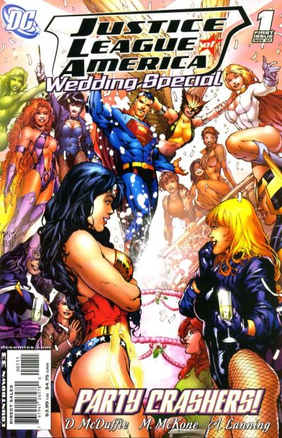 Cover for Justice League Wedding Special (DC, 2007 series) #1
