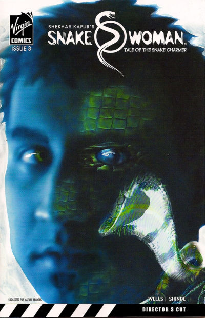 Cover for Snake Woman: Tale of the Snake Charmer (Virgin, 2007 series) #3