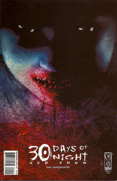Cover for 30 Days of Night: Red Snow (IDW, 2007 series) #1