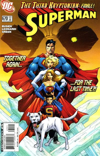 Cover for Superman (DC, 2006 series) #670