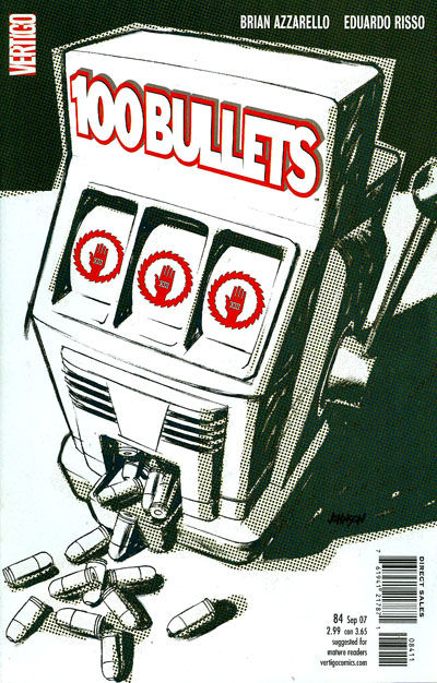 Cover for 100 Bullets (DC, 1999 series) #84