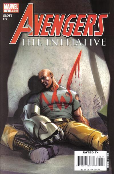 Cover for Avengers: The Initiative (Marvel, 2007 series) #6