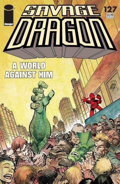 Cover for Savage Dragon (Image, 1993 series) #127
