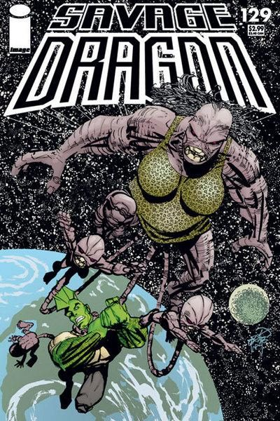 Cover for Savage Dragon (Image, 1993 series) #129