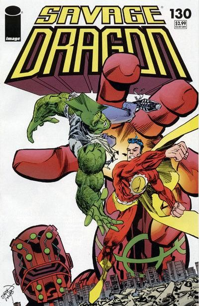 Cover for Savage Dragon (Image, 1993 series) #130