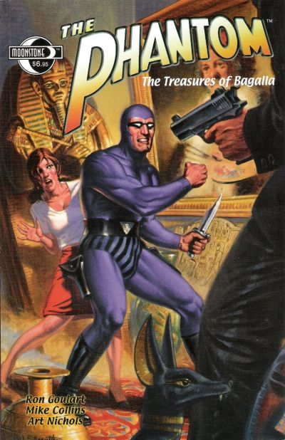 Cover for The Phantom: The Treasures of Bangalla (Moonstone, 2002 series)