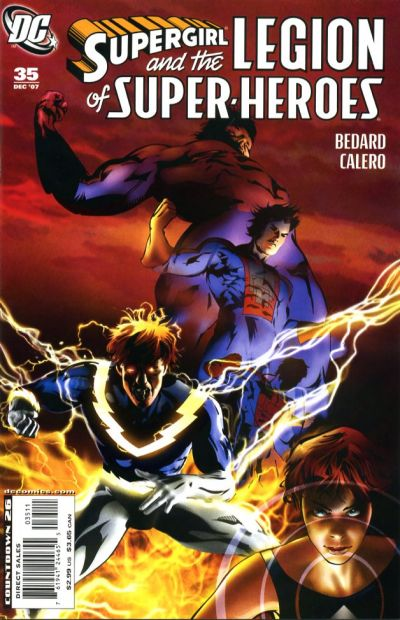 Cover for Supergirl and the Legion of Super-Heroes (DC, 2006 series) #35