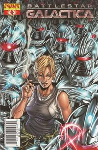 Cover Thumbnail for Battlestar Galactica (Dynamite Entertainment, 2006 series) #4 [Cover B - Nigel Raynor]