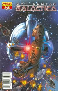 Cover Thumbnail for Battlestar Galactica (Dynamite Entertainment, 2006 series) #7 [Cover D - Jonathan Lau]