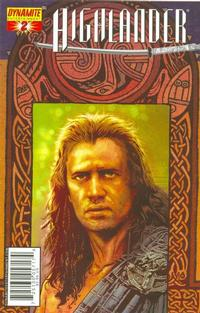Cover Thumbnail for Highlander (Dynamite Entertainment, 2006 series) #2 [Tony Harris Cover]