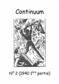 Cover for Continuum (JMF, 2007 series) #2