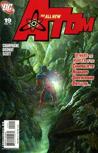 Cover Thumbnail for The All New Atom (DC, 2006 series) #19