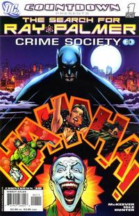 Cover Thumbnail for Countdown Presents: The Search for Ray Palmer: Crime Society (DC, 2007 series) #1