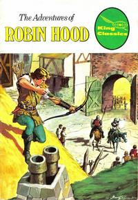 Cover for King Classics (King Features, 1977 series) #4 - The Adventures of Robin Hood [Red Title]