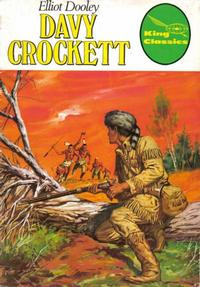 Cover Thumbnail for King Classics (King Features, 1977 series) #12 - Davy Crockett