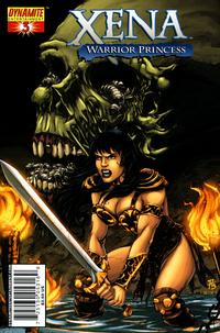 Cover Thumbnail for Xena (Dynamite Entertainment, 2006 series) #3 [Adriano Batista Cover]