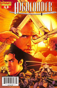 Cover Thumbnail for Highlander (Dynamite Entertainment, 2006 series) #4 [Tony Harris Cover]