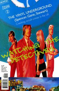 Cover for The Vinyl Underground (DC, 2007 series) #2