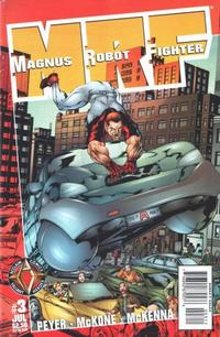 Cover Thumbnail for Magnus Robot Fighter (Acclaim / Valiant, 1997 series) #3