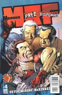 Cover Thumbnail for Magnus Robot Fighter (Acclaim / Valiant, 1997 series) #4