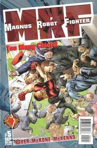 Cover Thumbnail for Magnus Robot Fighter (Acclaim / Valiant, 1997 series) #5