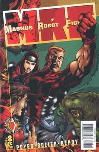 Cover Thumbnail for Magnus Robot Fighter (Acclaim / Valiant, 1997 series) #8