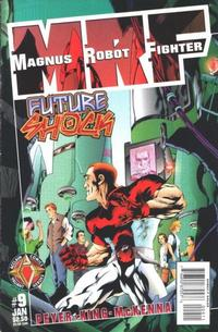 Cover Thumbnail for Magnus Robot Fighter (Acclaim / Valiant, 1997 series) #9