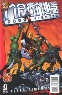 Cover Thumbnail for Magnus Robot Fighter (Acclaim / Valiant, 1997 series) #11