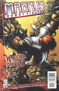 Cover Thumbnail for Magnus Robot Fighter (Acclaim / Valiant, 1997 series) #12