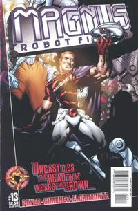 Cover Thumbnail for Magnus Robot Fighter (Acclaim / Valiant, 1997 series) #13