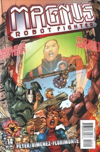 Cover Thumbnail for Magnus Robot Fighter (Acclaim / Valiant, 1997 series) #14