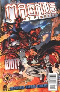 Cover Thumbnail for Magnus Robot Fighter (Acclaim / Valiant, 1997 series) #15