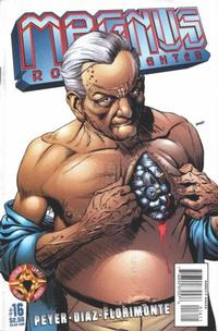 Cover Thumbnail for Magnus Robot Fighter (Acclaim / Valiant, 1997 series) #16