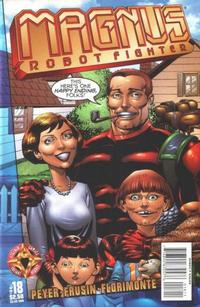 Cover Thumbnail for Magnus Robot Fighter (Acclaim / Valiant, 1997 series) #18