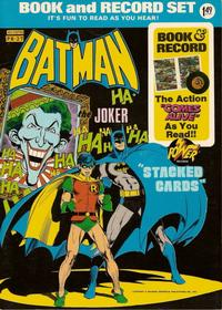 """Cover Thumbnail for Batman: """"Stacked Cards"""" [Book and Record Set] (Peter Pan, 1975 series) #PR27"""