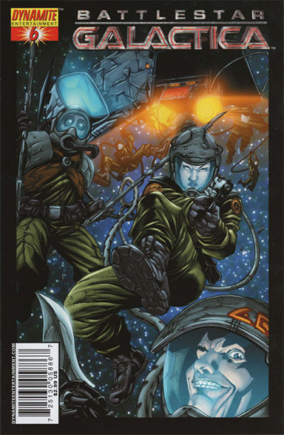 Cover for Battlestar Galactica (Dynamite Entertainment, 2006 series) #6 [Cover C Photo Cover]