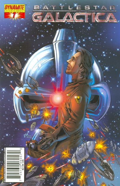 Cover for Battlestar Galactica (Dynamite Entertainment, 2006 series) #7 [Cover A - Nigel Raynor]
