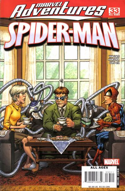 Cover for Marvel Adventures Spider-Man (Marvel, 2005 series) #33