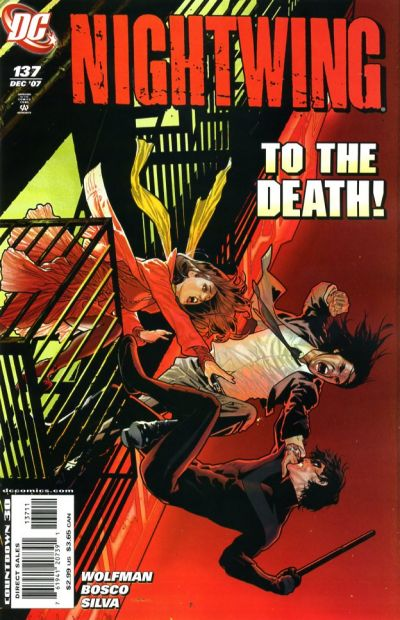 Cover for Nightwing (DC, 1996 series) #137