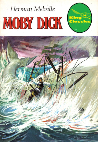 Cover for King Classics (King Features, 1977 series) #3 - Moby Dick