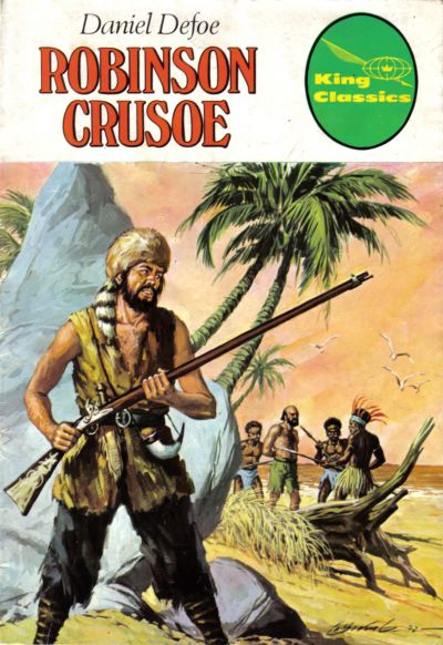 Cover for King Classics (King Features, 1977 series) #6 - Robinson Crusoe
