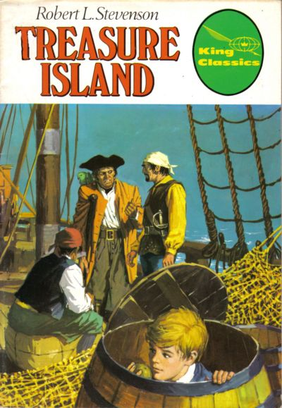 Cover for King Classics (King Features, 1977 series) #7 - Treasure Island