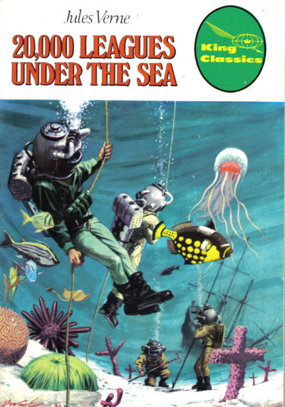 Cover for King Classics (King Features, 1977 series) #8 - 20,000 Leagues Under the Sea