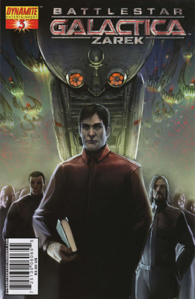 Cover for Battlestar Galactica Zarek (Dynamite Entertainment, 2006 series) #3 [3B]