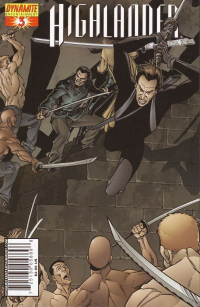 Cover for Highlander (Dynamite Entertainment, 2006 series) #3 [Sketch RI]