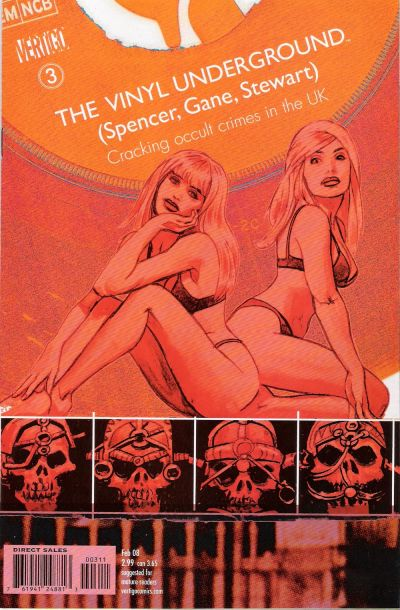 Cover for The Vinyl Underground (DC, 2007 series) #3