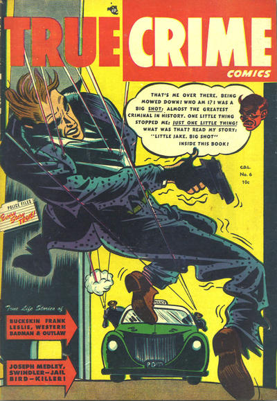 Cover for True Crime Comics (Alval Publishers, 1948 series) #6