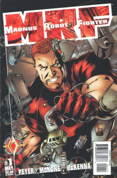 Cover for Magnus Robot Fighter (Acclaim / Valiant, 1997 series) #1