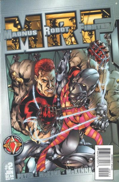 Cover for Magnus Robot Fighter (Acclaim / Valiant, 1997 series) #2